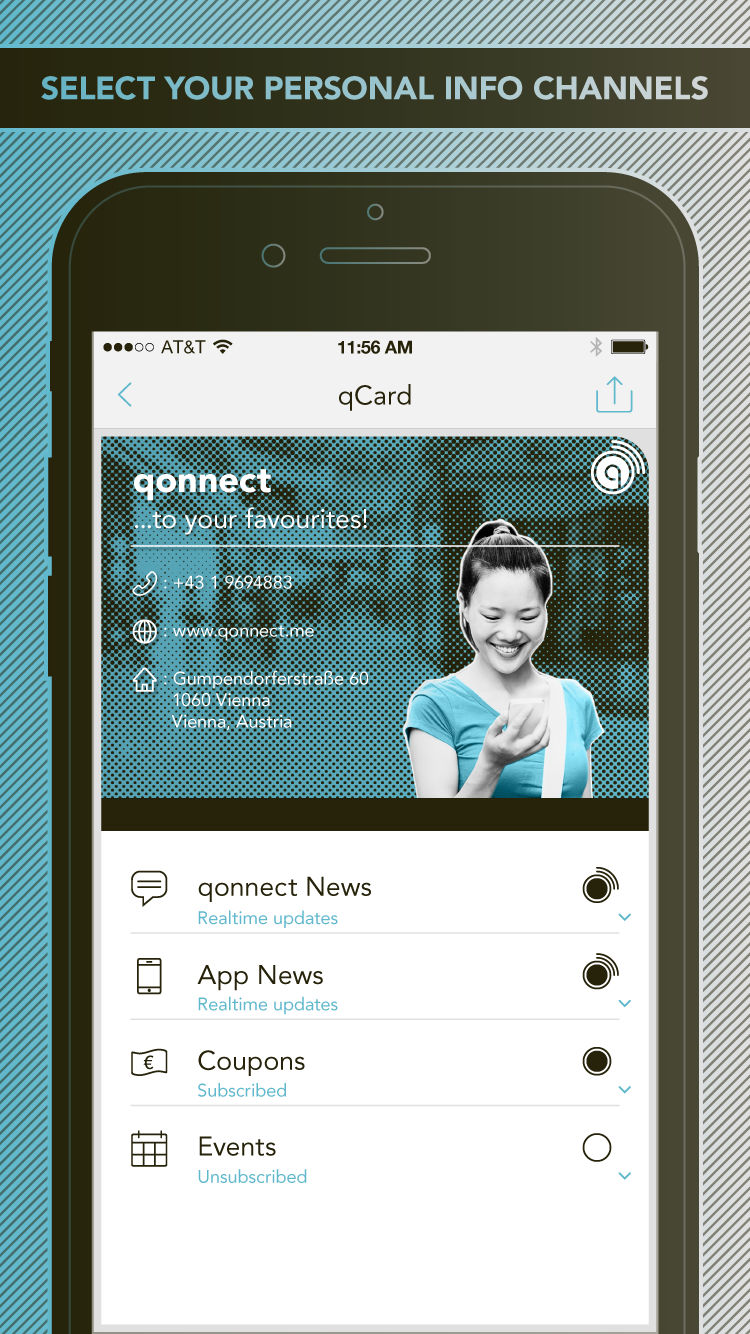 Qonnect Screenshot
